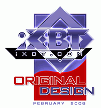iXBT: Award for original design!